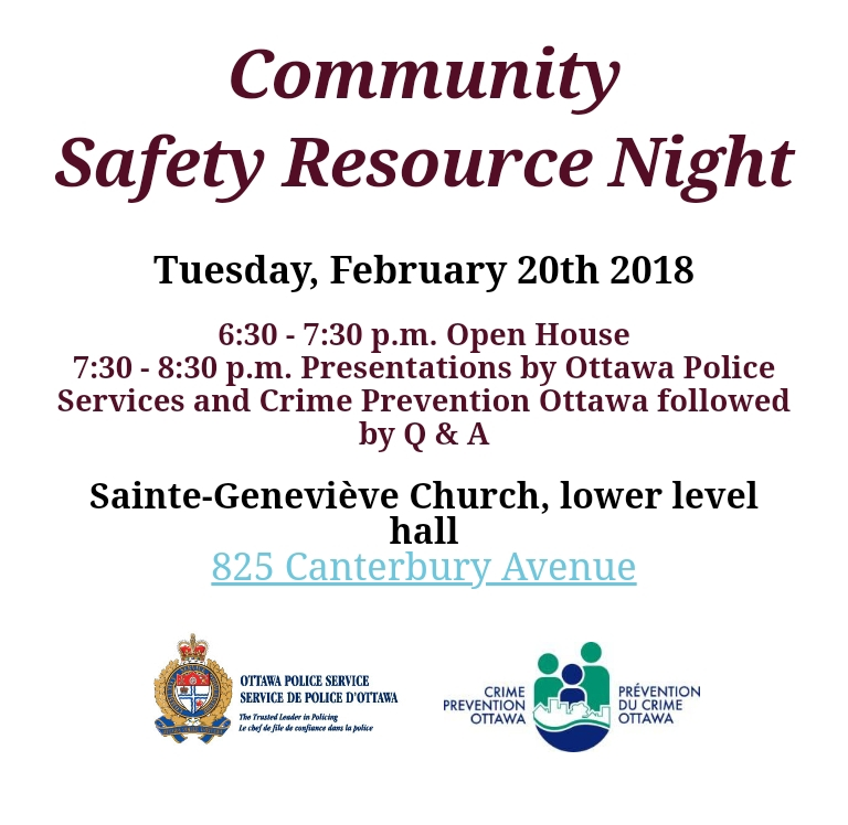 City of Ottawa – Alta Vista Community Association